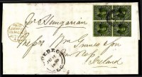 Sale Number 776, Lot Number 28, CANADA, 1857, 7-1/2p Green on Wove (9; SG 12)