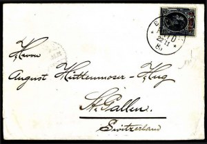 Sale Number 776, Lot Number 57, THAILAND, 1885, 1t on 1s Blue, Red Ty. B Surcharge (7; SG 7)