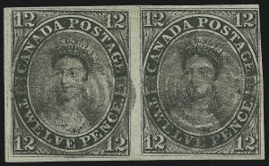 Sale Number 863, Lot Number 670, 1851, 12p Black, Laid (3; SG 4)