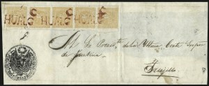 Sale Number 957, Lot Number 280, 1858, -1/2p Orange Yellow (6a)