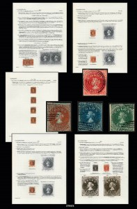 "Sale Number 989, Lot Number 278, THE JOHN H. HALL JR. COLLECTION OF CHILE 1853-65 ""COLON"" ISSUES"