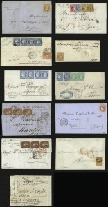 Sale Number 989, Lot Number 287, THE MARC WEINBERG-MARTIN COLLECTION OF FRENCH MARITIME MAILS