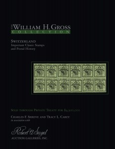 William Gross Switzerland Collection Sold for $4.5 Million