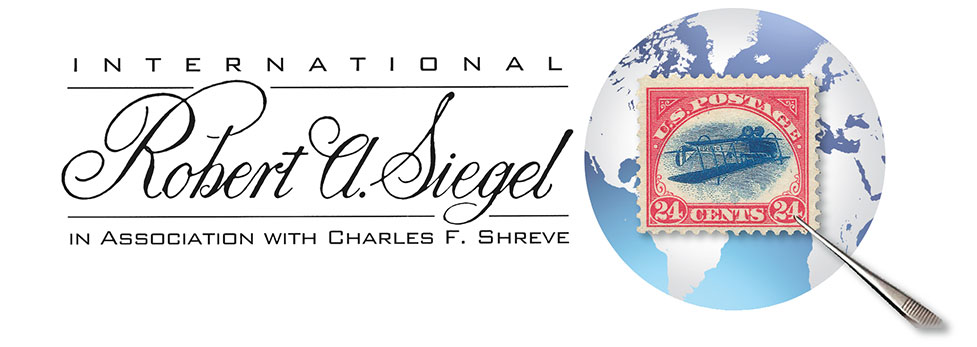 International, Robert A. Siegel, in Association with Charles F. Shreve